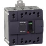 Miniature circuit breaker NG160N, 4P, 100 A, 25 kA