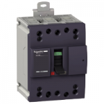 Miniature circuit breaker NG160H, 3P, 100 A, 36 kA