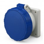 Socket outlet IP66/IP67, 200-250 V, 32 A, 3+E, 9 h