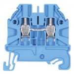 Feed-trough block WT 2,5 Blue 2.5 mm²