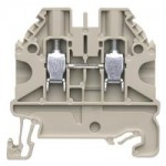 Feed-trough block WT 4 Gray 4 mm²