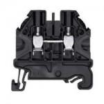 Feed-trough block WT 4 Black 4 mm²