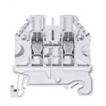 Feed-trough block WT 4 White 4 mm²