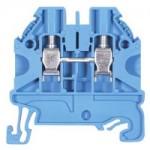 Feed-trough block WT 4 Blue 4 mm²