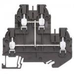Multi-tier block WT 4 E VB Black 4 mm²