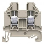 Feed-trough block WT 6 Gray 6 mm²