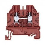 Feed-trough block WT 6 Red 6 mm²