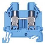 Feed-trough block WT 6 Blue 6 mm²