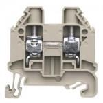 Feed-trough block WT 10 Gray 10 mm²