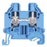 Feed-trough block WT 10 Blue 10 mm²
