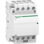 iCT contactor 3 N/O, 220/240 V AC, 40 A