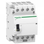 iCT manually operated contactor 4 N/O, 220/240 V, 63 A