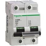 Miniature circuit breaker C120H, 2P, 10 A, B, 30kA
