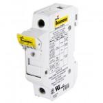 Fuse-holder, LV, 32 A, DC 1000 V, 10 x 38 mm, gPV, 2P, UL, IEC, DIN rail mount
