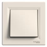 One-way Switch, 10 AX, Cream