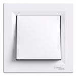 One-way Switch, 10 AX, IP44, White