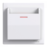 Mechanical card Switch, White