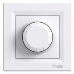 Two-way Switch Dimmer with locator lamp 600VA, White