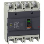 Molded case circuit-breaker EasyPact, 25 kA, 63 A, 4P/4T, Thermal-magnetic