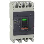 Molded case circuit-breaker EasyPact, 36 kA, 250 A, 3P, Thermal-magnetic