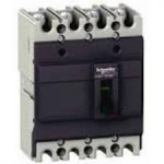 Molded case circuit-breaker EasyPact, 36 kA, 250 A, 4P/3T, Thermal-magnetic