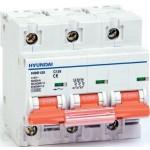 Miniature Circuit Breaker HiBD125, 3P, B, 63 A, 10 kA
