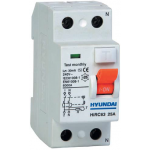 Residual Current Circuit Breaker A, 2P, 16 A, 10 mA