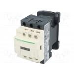 Contactor TeSys D, 3P,(1 N/O + 1 N/C)24V AC coil, 12A