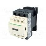 Contactor TeSys D, 3P,(1 N/O + 1 N/C) 24V AC coil, 18A