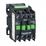 Contactor EasyPact TVS, 3P with (1 N/C) auxiliary contacts, 240V AC coi 50 Hz, 6A