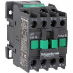 Contactor EasyPact TVS, 3P with (1 N/O) auxiliary contacts, 220V AC coil 60 Hz, 6A