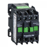 Contactor EasyPact TVS, 3P with (1 N/C) auxiliary contacts, 240V AC coi 50 Hz, 9A