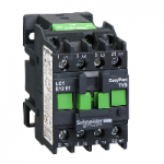 Contactor EasyPact TVS, 3P with (1 N/C) auxiliary contacts, 415V AC coi 50 Hz, 12A