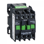 Contactor EasyPact TVS, 3P with (1 N/C) auxiliary contacts, 240V AC coi 50 Hz, 12A
