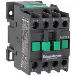 Contactor EasyPact TVS, 3P with (1 N/O) auxiliary contacts, 220V AC coil 60 Hz, 12A