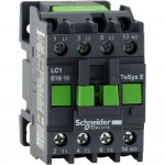 Contactor EasyPact TVS, 3P with (1 N/O) auxiliary contacts, 380V AC coil 60 Hz, 12A