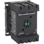 Contactor EasyPact TVS, 3P with (1 N/C + 1 N/O) auxiliary contacts, 220V AC coil 50 Hz, 160A