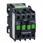 Contactor EasyPact TVS, 3P with (1 N/O) auxiliary contacts, 240V AC coil 50 Hz, 25A