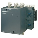 Contactor EasyPact TVS, 3P with (1 N/C + 1 N/O) auxiliary contacts, 440V AC coil 60 Hz, 300A