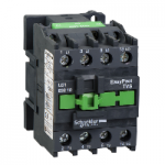 Contactor EasyPact TVS, 3P with (1 N/O) auxiliary contacts, 440V AC coil 50 Hz, 32A