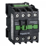Contactor EasyPact TVS, 3P with (1 N/C) auxiliary contacts, 24V AC coil 50 Hz, 38A
