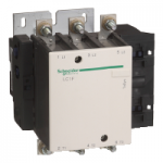 Contactor TeSys F, 3P(3 N/O) 110V AC coil 50 Hz, 185A