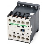 Contactor TeSys K, 3P(3 N/O) 110V AC coil, 12A