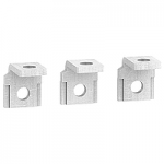 Right-angle terminal extensions, set of 3