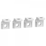 Right-angle terminal extensions, set of 4