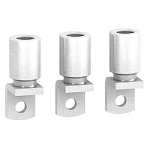 Crimp lugs for 150 mm2 aluminium cable, set of 3