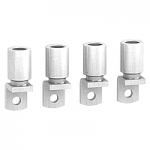 Crimp lugs for 180 mm2 aluminium cable, set of 4