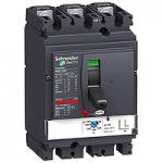 Circuit breaker NSX100 Magnetic MA , 6.3 A, 3P/3d, F