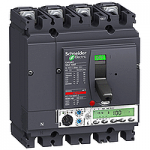 Circuit breaker NSX100 Micrologic 5.2 A (LSI protection, ammeter), 40 A, 4P, B
