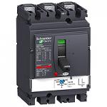 Circuit breaker NSX160 Magnetic MA , 100 A, 3P/3d, F
